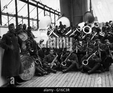 James Reese Europe (February 22, 1881 - May 9, 1919) was an American ragtime and early jazz bandleader, arranger, - Stock Photo