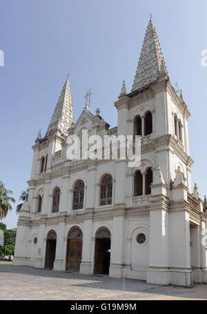 Santa Cruz Cathedral Basilica at Fortkochi - Stock Photo