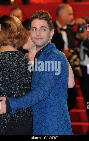 May  22nd, 2014 - Cannes  Xavier Dolan attends the Cannes Film Festival. - Stock Photo