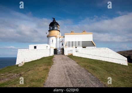 Stoer Head Lighthouse, Sutherland Scotland UK - Stock Photo