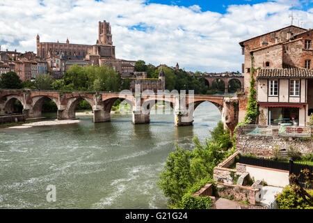 Albi (Tarn,France) - Stock Photo