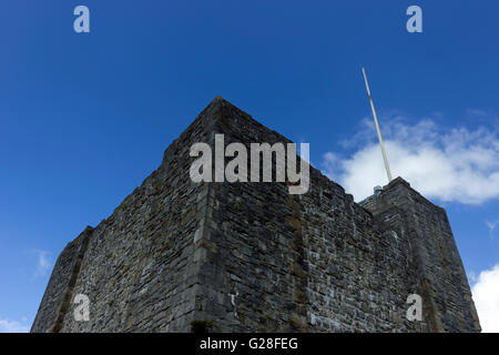 Clitheroe Castle - Stock Photo