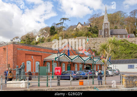 View on The Cobh Heritage Centre, a museum which is situated in the Victorian Railway station, Cobh, Cork, County - Stock Photo