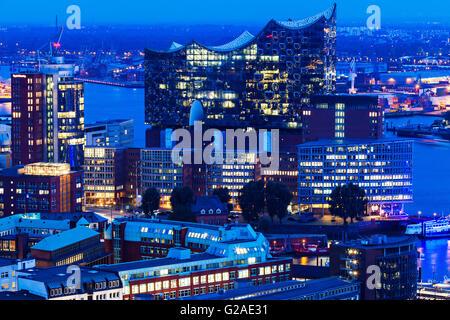 Neue Elbphilharmonie in Hamburg Hamburg, Germany - Stock Photo