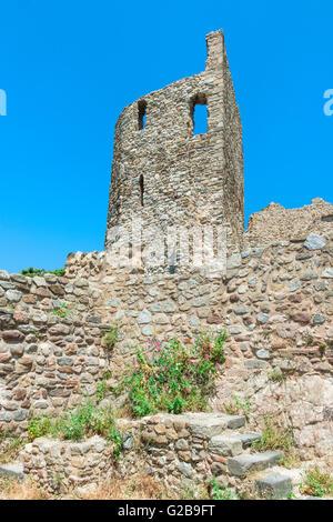 Grimaud castle, Var, Provence Alpes Cote d'Azur region, France - Stock Photo