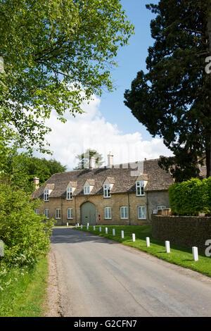 Bruern abbey preparatory school buildings. Bruern, West Oxfordshire, England - Stock Photo