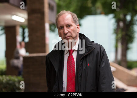 London, UK. 1st June, 2016. Patrick Rock leaves Southwark Crown Court in London, where the former aide to Prime - Stock Photo