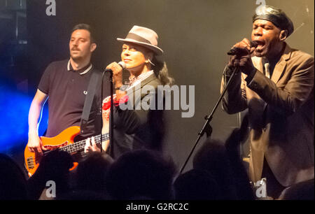 16.09.2015, Berlin, Berlin, Germany - Concert of the band The Selecter in Gretchen Berlin-Kreuzberg. The Selecter, - Stock Photo