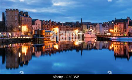 The Shore, Leith, Edinburgh, Scotland, United Kingdom, Europe - Stock Photo