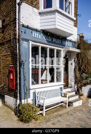 The Old Post Office at Upnor, Kent, England - Stock Photo