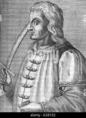 MATTHIAS CORVINUS HUNYADI Ruler of Hungary (1458-90)        Date: 1440 - 1490 - Stock Photo