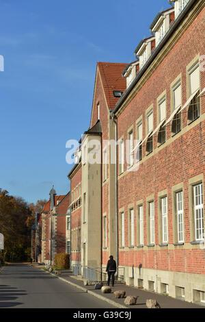 Altbau, Kliniken, Buch, Berlin, Deutschland - Stock Photo