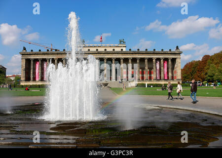 Altes Museum, Lustgarten, Berlin-Mitte. - Stock Photo