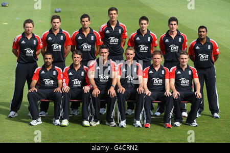 Cricket - International Twenty20 - England v Sri Lanka - England Nets Session - Day Two - The County Ground - Stock Photo