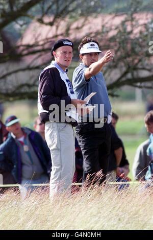 Open Golf/Jean Van 10th/3 - Stock Photo