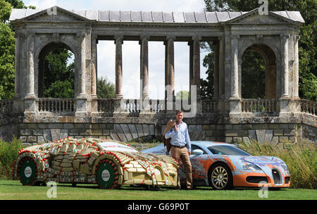 Wilton Classic and Supercars - Stock Photo