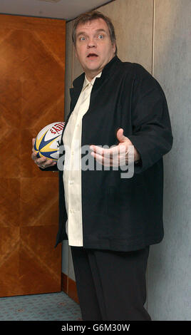 Meatloaf press conference - Stock Photo