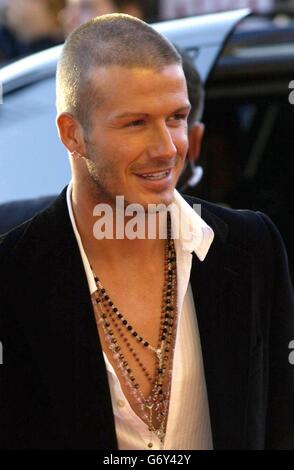David Beckham at 19 Management Party - Stock Photo
