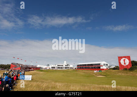 Golf - Ricoh Women's British Open - Day Four - Royal Birkdale - Stock Photo