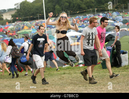 Bestival 2014 - Day One - Stock Photo