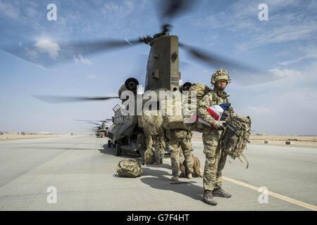 Troops in Afghanistan - Stock Photo