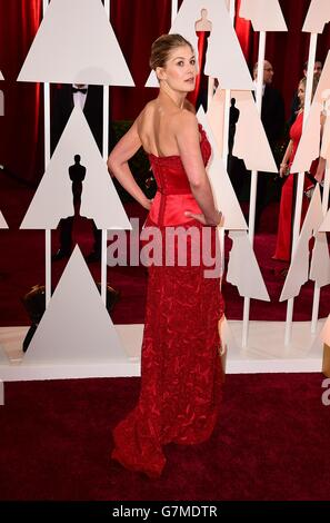 The 87th Academy Awards - Arrivals - Los Angeles - Stock Photo