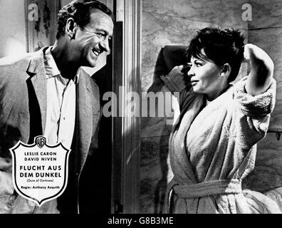 Guns Of Darkness, aka: Flucht aus dem Dunkel, Großbritannien 1962, Regie: Anthony Asquith, Darsteller: David Niven, - Stock Photo