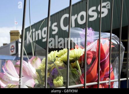 London Terrorist Attacks - Aftermath - Stock Photo