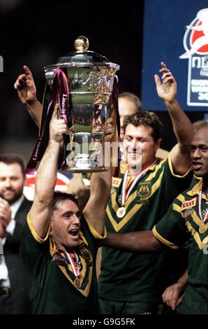 Rugby League - 2000 World Cup - Final - Australia v New Zealand - Stock Photo