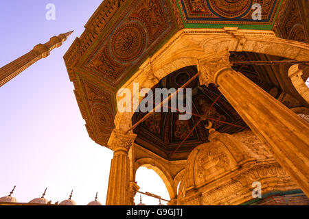Mohamed Ali Mosque, at the Citadel in Cairo, Egypt - Stock Photo