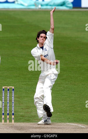 Cricket - Liverpool Victoria County Championship - Division One - Nottinghamshire v Middlesex - Trent Bridge - Stock Photo