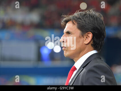Lille Metropole, France. 01st July, 2016. Head coach Chris Coleman of Wales before the UEFA EURO 2016 quarter final - Stock Photo