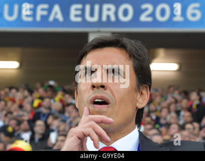 Lille Metropole, France. 01st July, 2016. Headcoach Chris Coleman of Wales before the UEFA EURO 2016 quarter final - Stock Photo