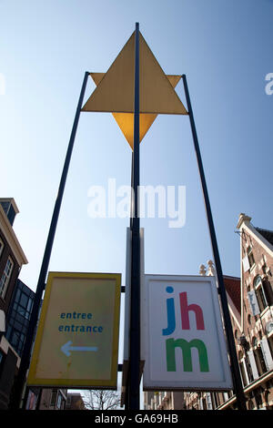 Joods Historisch Museum or Jewish Historical Museum, Amsterdam, The Netherlands, Europe - Stock Photo