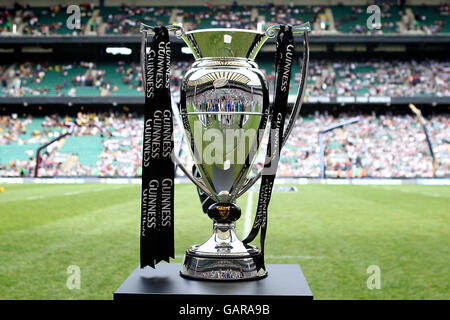 Rugby Union - Guinness Premiership Final - London Wasps v Leicester Tigers - Twickenham - Stock Photo