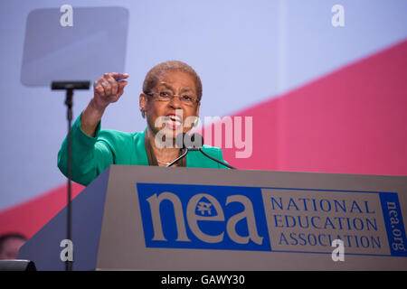 Washington DC, USA. 5th July, 2016. On Tuesday, July 5, at the Walter E. Washington Convention Center, Congresswoman - Stock Photo