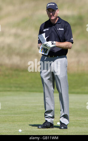 Golf - Open 2008 Championship - Preview - Royal Birkdale Golf Club - Stock Photo