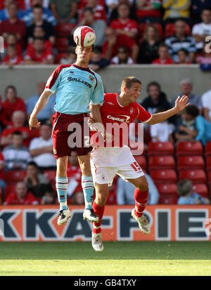Soccer - Coca-Cola Football League Championship - Nottingham Forest v Burnley - City Ground - Stock Photo