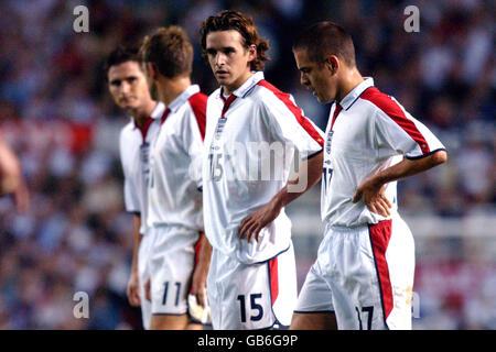 Soccer - European Championships 2004 Qualifier - Group Seven - England v Liechtenstein - Stock Photo
