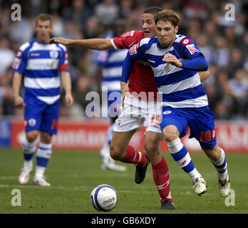 Soccer - Coca-Cola Football League Championship - Queens Park Rangers v Nottingham Forest - Loftus Road - Stock Photo