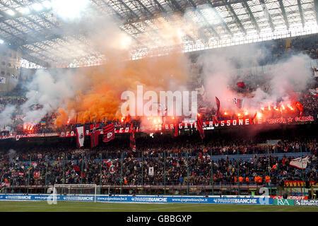 Soccer - Italian Serie A - AC Milan v Reggina - Stock Photo