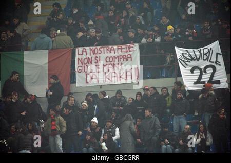 Soccer - Italian Serie A - AC Milan v Fiorentina - San Siro - Stock Photo