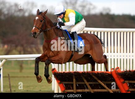 Horse Racing - Market Rasen Racecourse - Stock Photo