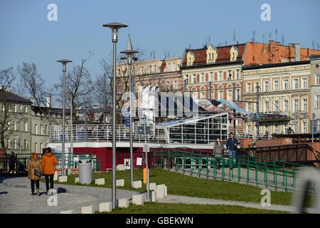 Sandinsel, Breslau, Niederschlesien, Polen - Stock Photo