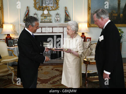 Black Rod appointed - Stock Photo