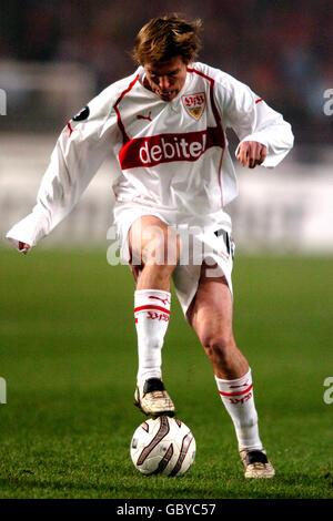 Soccer - UEFA Cup - Group G - VFB Stuttgart v Benfica - Stock Photo
