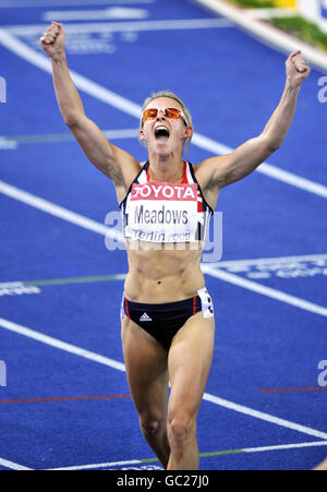 Athletics - IAAF World Athletics Championships - Day Five - Berlin 2009 - Olympiastadion - Stock Photo