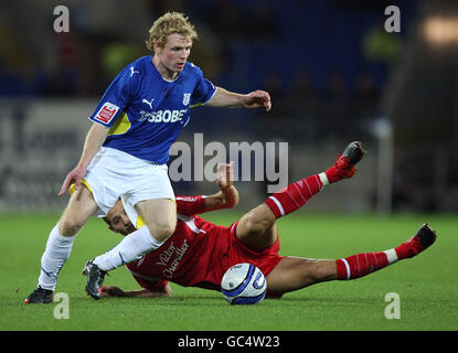 Soccer - Coca-Cola Football League Championship - Cardiff City v Nottingham Forest - Cardiff City Stadium - Stock Photo