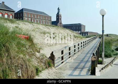 Maritime hospital of Berck-sur-Mer specialized in functional rehabilitation. - Stock Photo