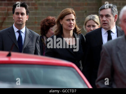 Michael Foot funeral - Stock Photo
